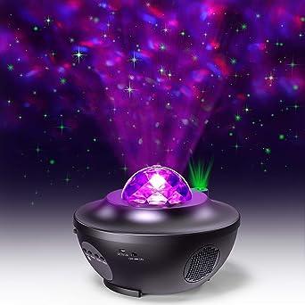 Proyector de Estrellas de luz Nocturna, luz Estrellada Y Proyector ...