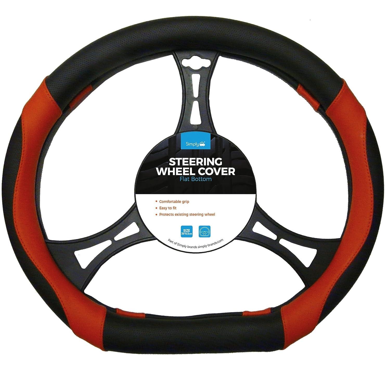 antiscivolo dimensioni 37-39 cm confortevole piatto fondo rosso dettagli Semplicemente SWC131/Universal car//Van coprivolante