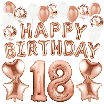 Sundell 41 Stuck Geburtstag Dekoration Riesen Zahl 18