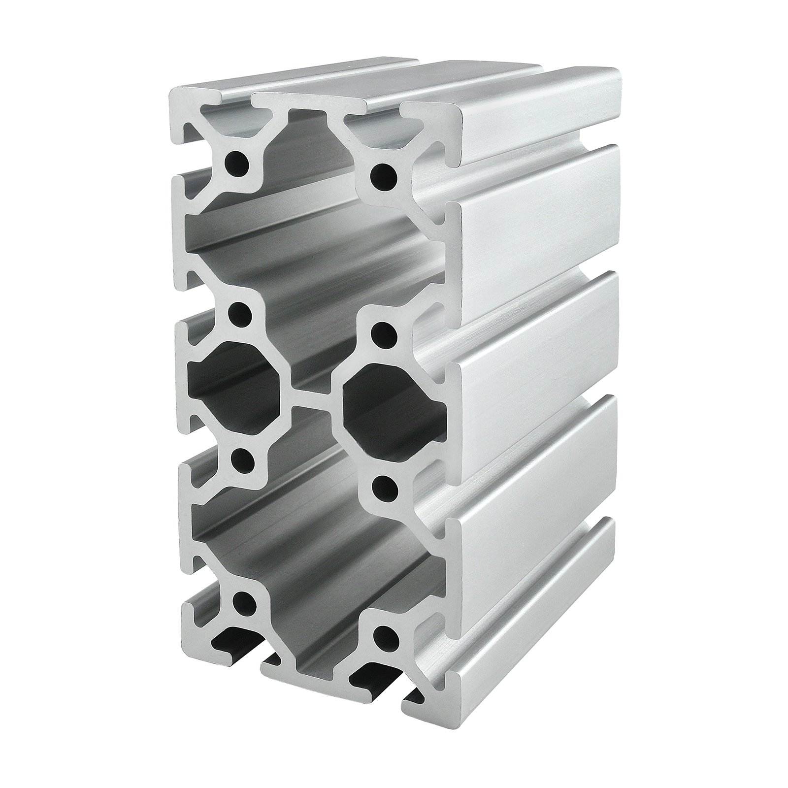 80/20 Inc., 40-8016, 40 Series, 80mm x 160mm T-Slotted Extrusion x 1500mm