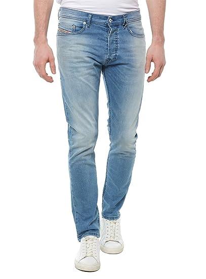 ce7c0b82 Diesel Tepphar Stretch Light Washed Denim Jeans 084CU 30x32(REG): Amazon.co. uk: Clothing