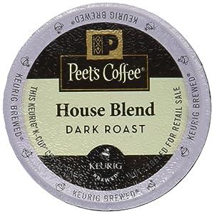 Peet's Coffee House Blend Single Cup Coffee for Keurig K-Cup Brewers 40 count