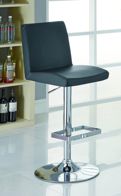 Amazon.com: Coaster Barstool (Set of 2)-Black: Kitchen & Dining