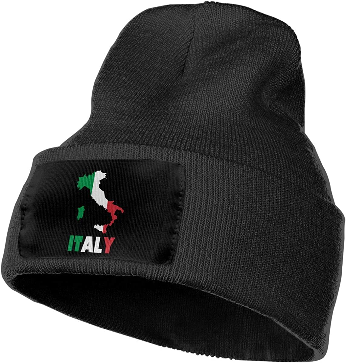 COLLJL-8 Men /& Women Flag Map of Italy Outdoor Fashion Knit Beanies Hat Soft Winter Knit Caps