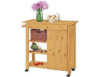 Outdoor Küchenwagen : Loft24 edmund küchenwagen küchentrolley servierwagen mehrzweckwagen