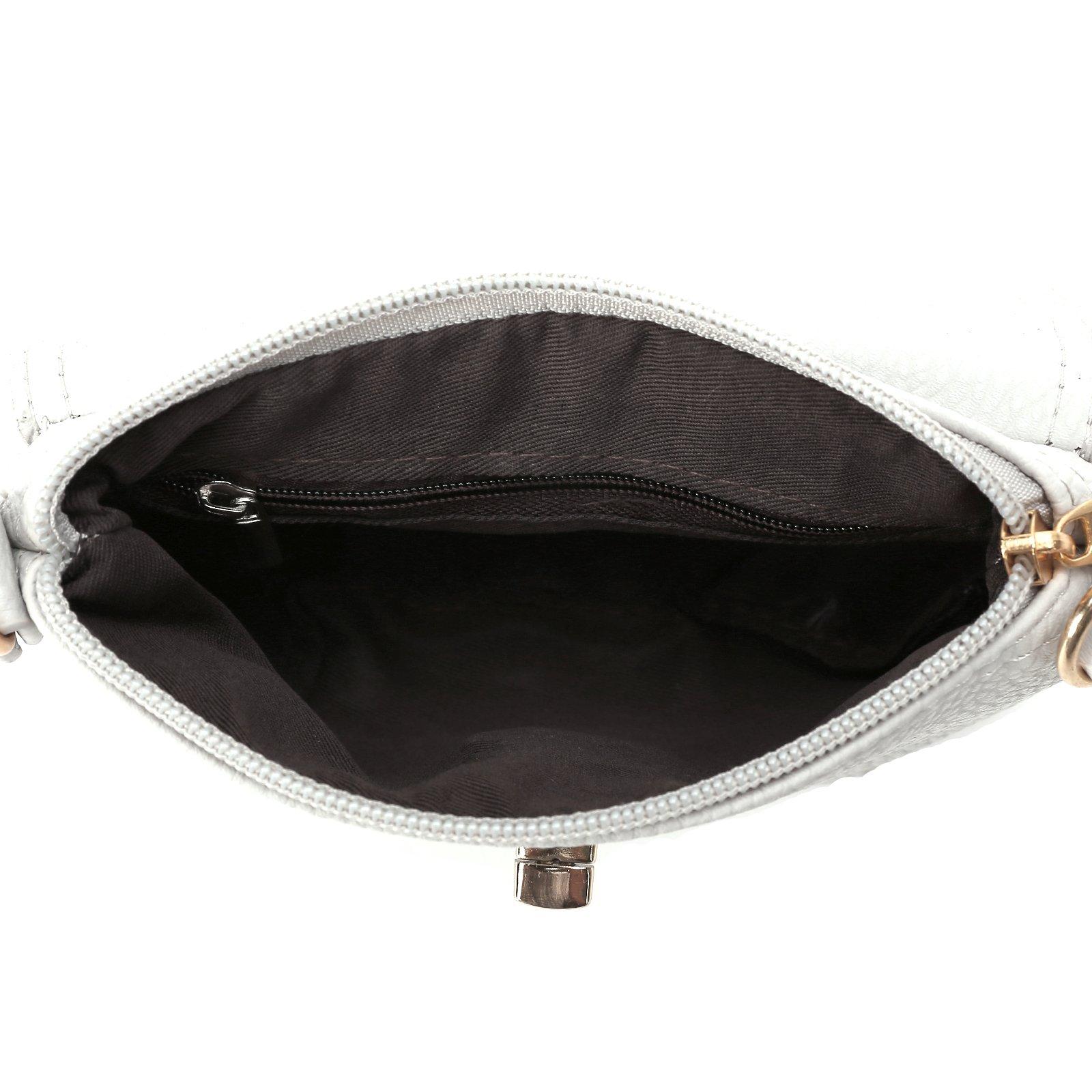 Ladies Mini SMALL Handbag Envelope Crossbody Shoulder Messenger Totes Bag Purse by Anladia (Image #4)