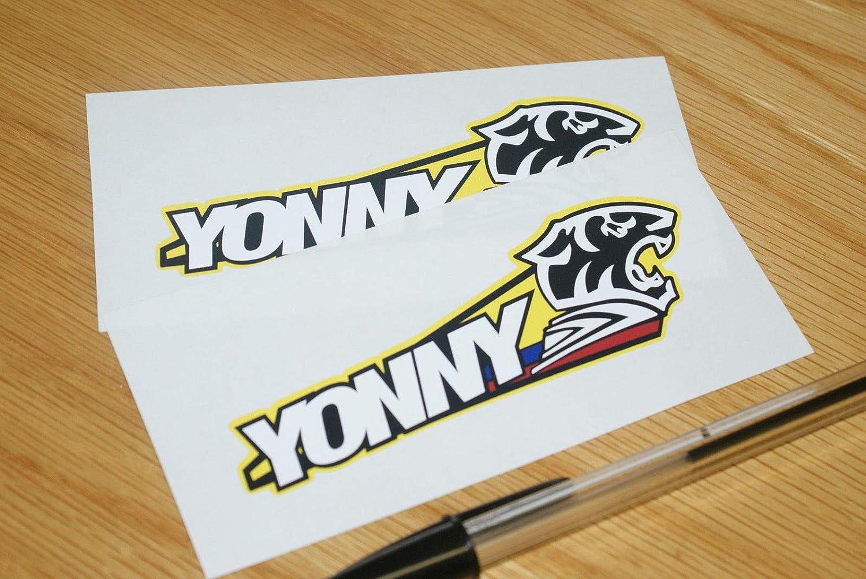 Yonny Hern/ández Screen Stickers