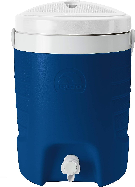 Enfriador de Agua Fria One Nevera peque/ña portatil Coleman Termo Dosificador Performance Jug Azul Unisex-Adult Capacidad de 3,8 litros