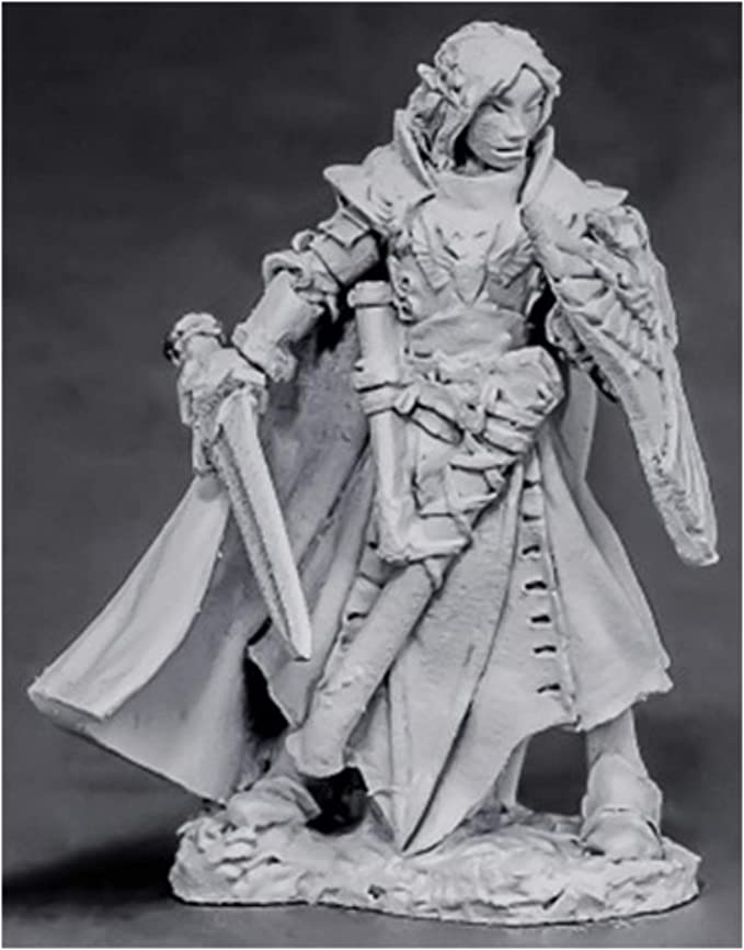 Reaper Miniatures Female Dark Elf #02574 Dark Heaven Legends Unpainted Metal