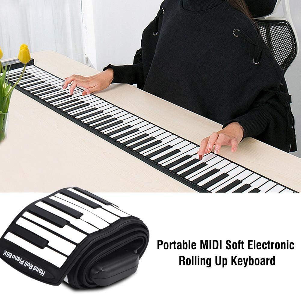 Piano flexible, piano portátil, piano enrollable, teclado ...