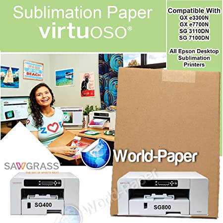 Lovely Amazon.com: Sublimation Paper For Mugs 100 PCS 8.5 X 14 , For Virtuoso  SG800,SG400 And Epson Printer: Office Products