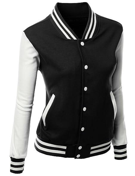 Xpril Women's Stylish fabric Baseball jacket at Amazon Women's ...