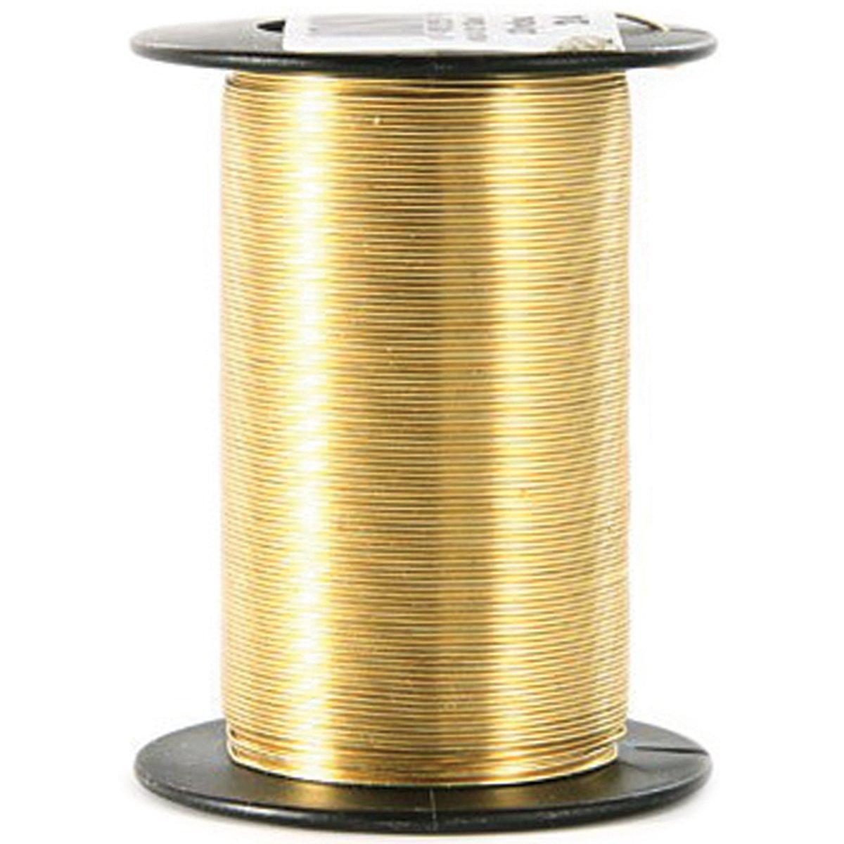 Beadery 24 Gauge Wire 25 Yards/Pkg-Gold 2490212