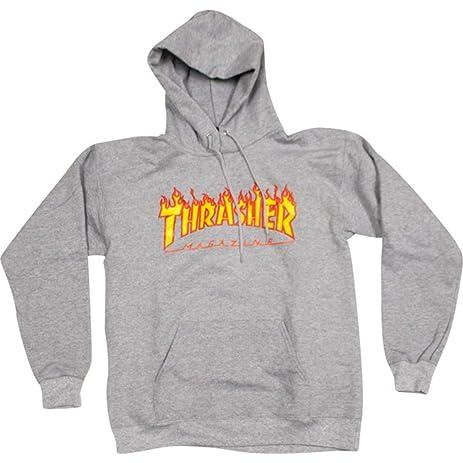 Thrasher Skate Mag Pullover Hoodie - Heather Grey - Sport