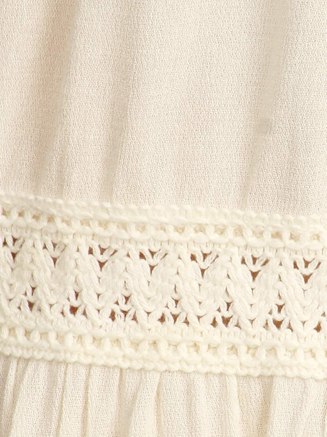 d98ee1e36e Anna-Kaci Women's Casual Semi Sheer Bohemian Crochet Lace Flounce ¾ Bell  Sleeve Flowy Mini Dress at Amazon Women's Clothing store: