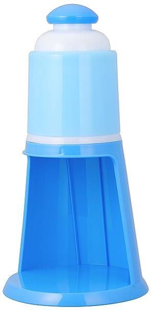 Amazon ドウシシャ 電動氷かき器 ブルー Din 1552b ドウシシャ