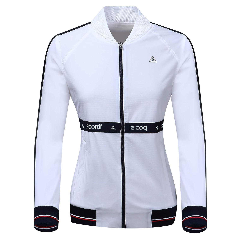 【2018最新作】 (ルコック jacket スポルティフ) LECOQSPORTIF Women logo band golf jacket B07PQDTW5T band 女性のロゴバンドのジャケット (並行輸入品) M ホワイト B07PQDTW5T, メガネプロサイトYOU:8c47ebea --- ballyshannonshow.com