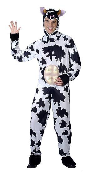 Mens Adult Cow Fancy Dress Costume  sc 1 st  Amazon UK & Mens Adult Cow Fancy Dress Costume: Amazon.co.uk: Toys u0026 Games