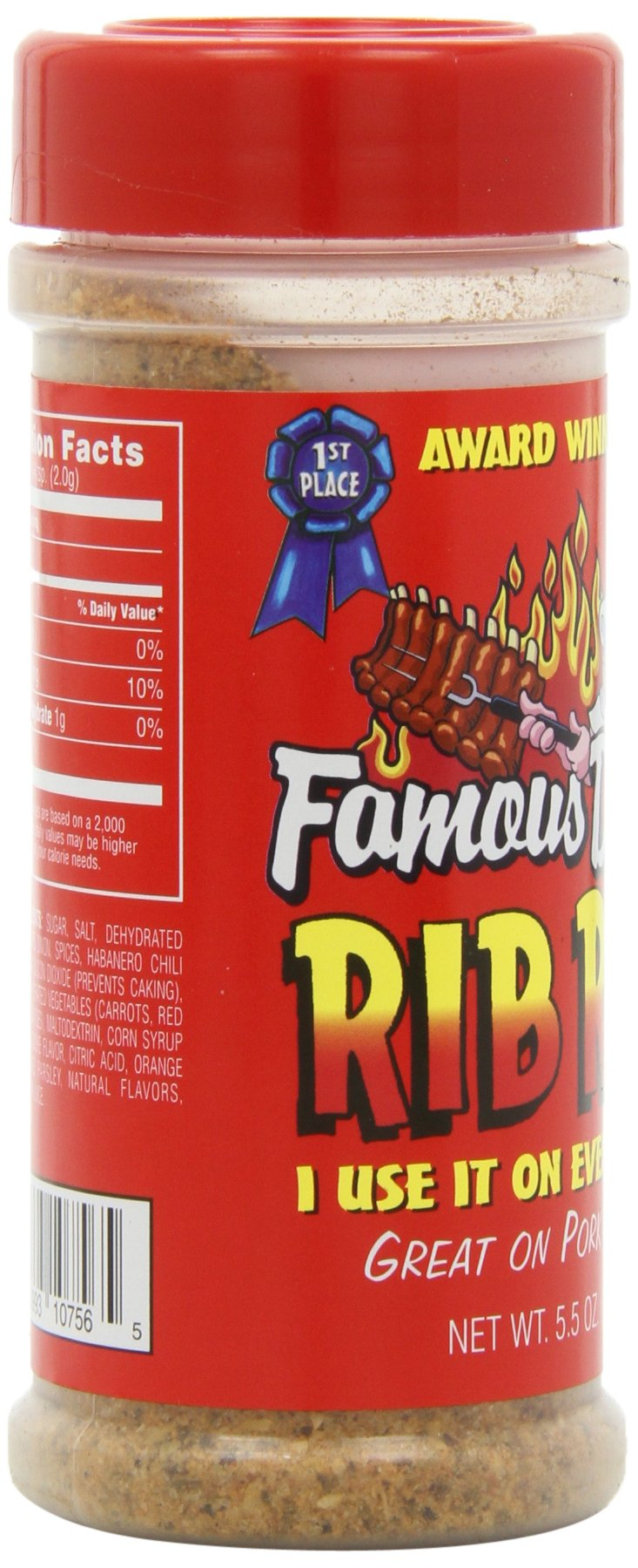 Famous Dave's Seasoning Rib Rub, 5.5-Ounce (Pack of 6) by Famous Dave's (Image #10)