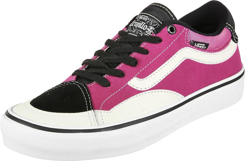 Amazon.com  Vans TNT Advanced Prototype Black Magenta White Men s Skate  Shoes Size 11  Clothing ee24da38f