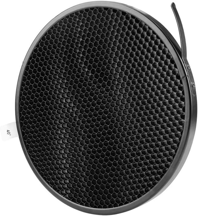 NiceFoto Honeycomb Grid for Bowens Mount Studio Flash Strobe Light Monolight /Φ170mm-4mm/×4mm for AD600B//AD600BM//AD600Pro//SL60W//SL150W//SL200W//MS200//MS300