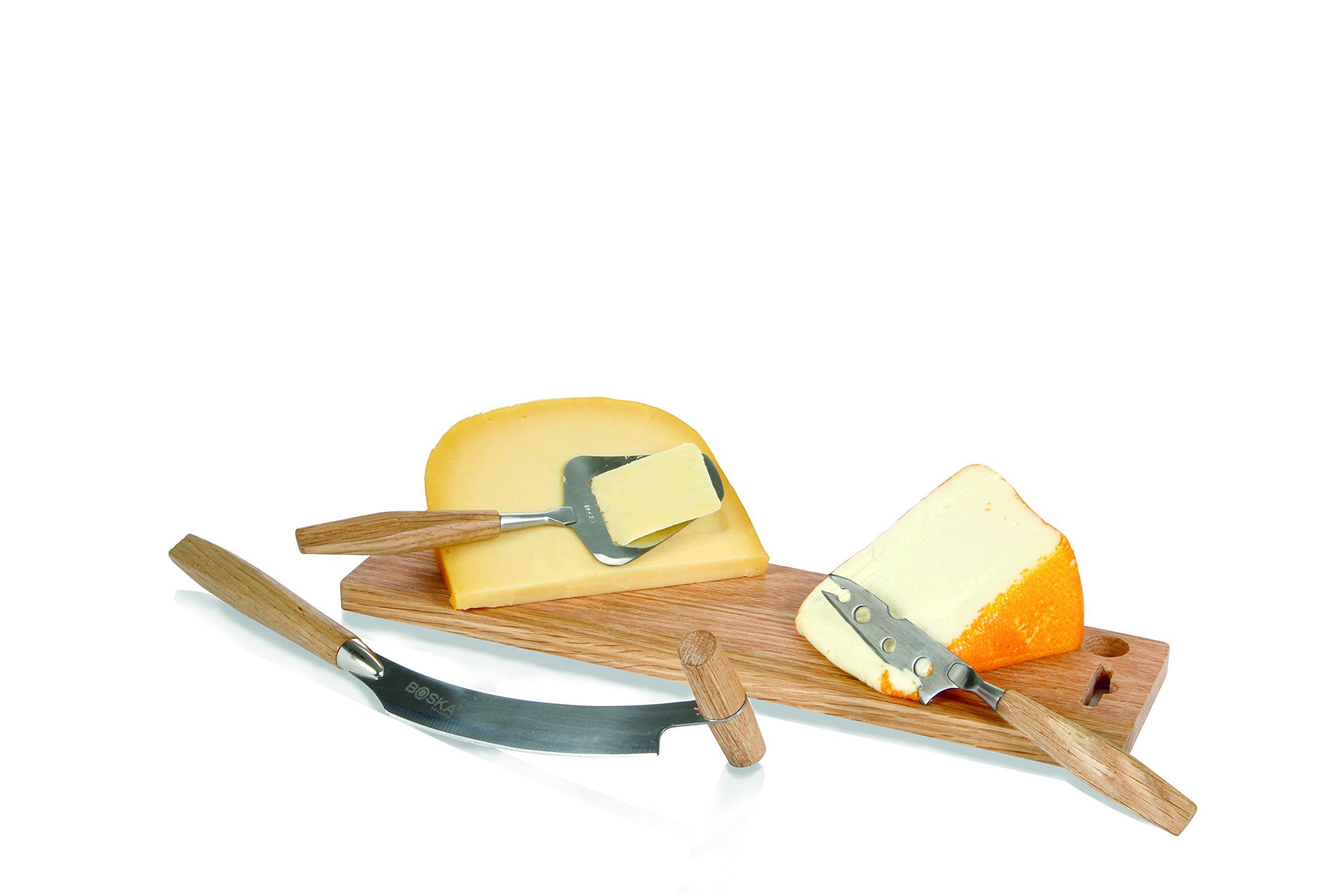 Boska Holland Explore Cheese Set Oak