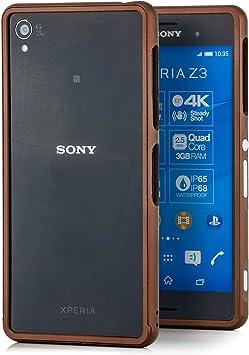 Funda Sony Xperia Z3 Carcasa bumper de aluminio [Saxonia ...