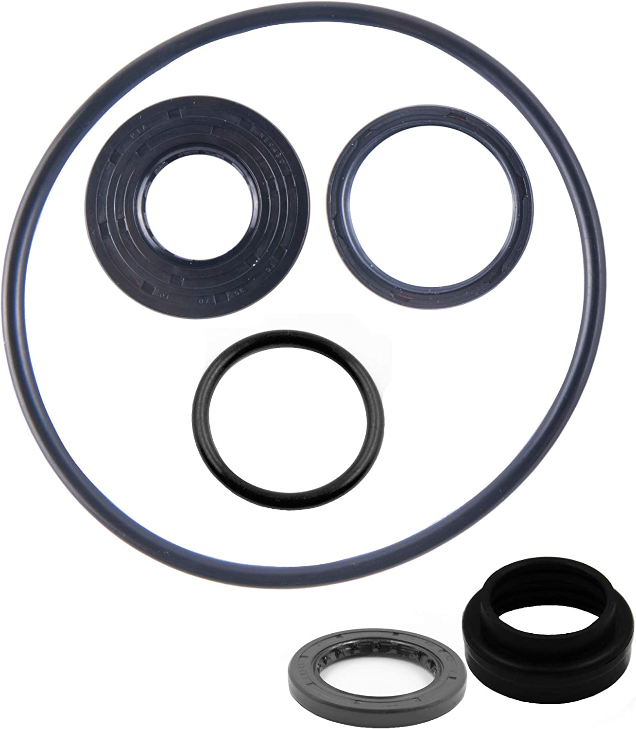East Lake Axle Rear differential bearing /& seal kit compatible with Arctic Cat 250 300 2X4 2006 2007 2008 2009 2010 2011 2012 2013 2014 2015 2016