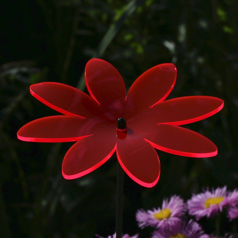 neonorange Acr/ílico cristal luz solar flor flores 14/cm neon transparente fluorescente curvado con 60/cm varilla/ /Selecci/ón de Colores/ /sunc atcher