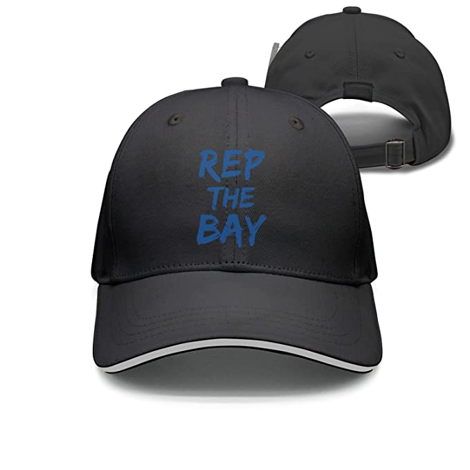 35f118a04ba Qqppii I Rep The Bay Blue 2018 Champions Parade Breathable Womens Mens Baseball  Cap
