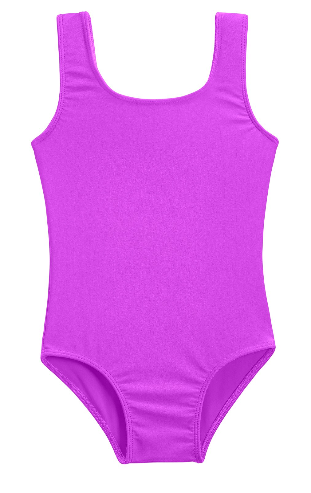 City Threads Girls' One Piece Swimming Suit with Sun Protection SPF for Beach Pool Or Play Swim Suit Rash Guard Bottoms Briefs, Deep Purple, 2T