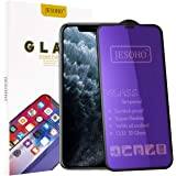 【Eye Protection】JESOHO Anti Blue Light Screen Protector for iPhone X/XS/11 Pro (2Packs), 3D Full Coverage, Anti-Scratches Eye