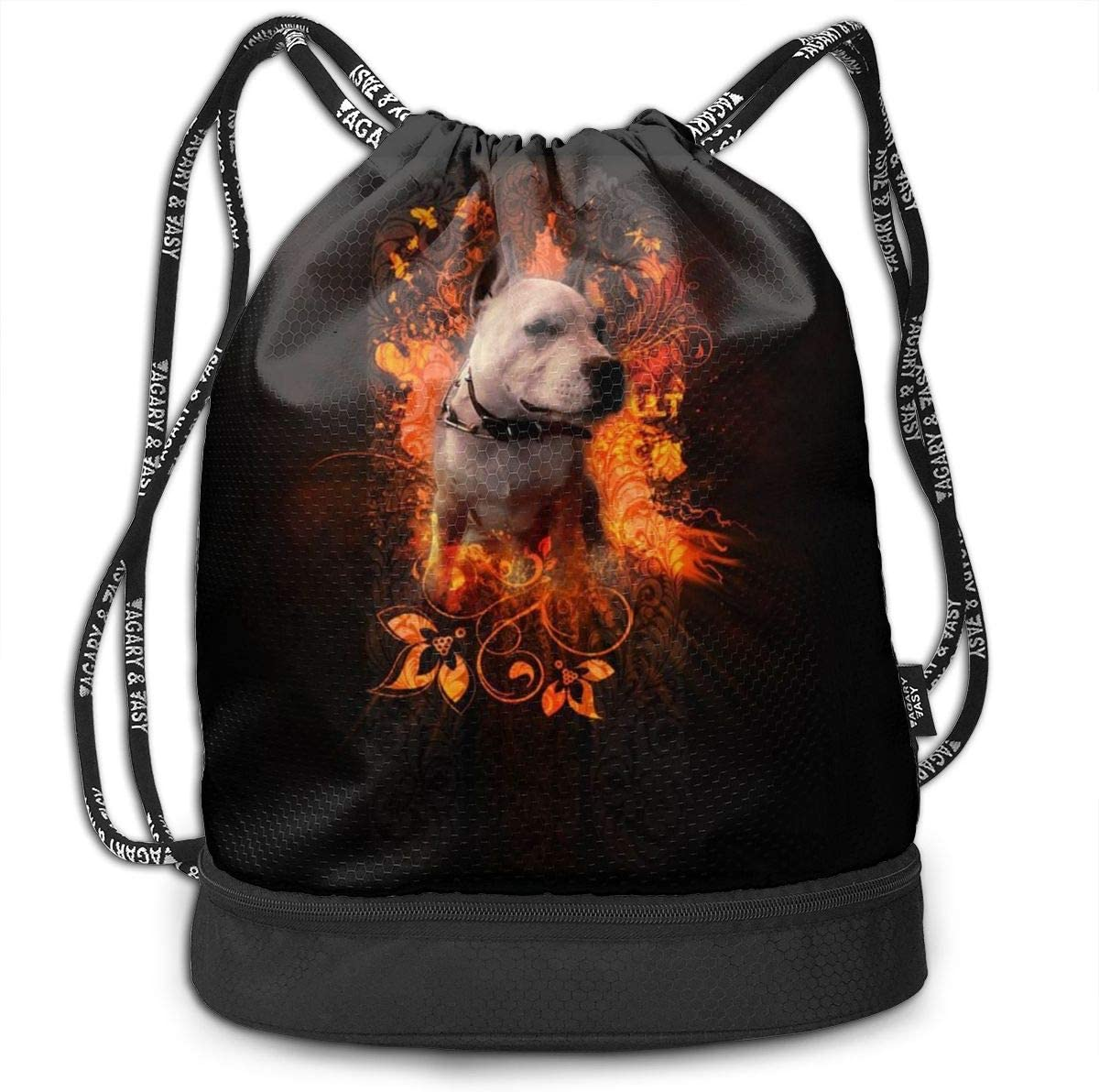 GymSack Drawstring Bag Sackpack Honey Dog Sport Cinch Pack Simple Bundle Pocke Backpack For Men Women
