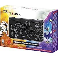 Nintendo Consola 3DS HW Xl Solgaleo Lunala - Black Edition - Nintendo 3DS