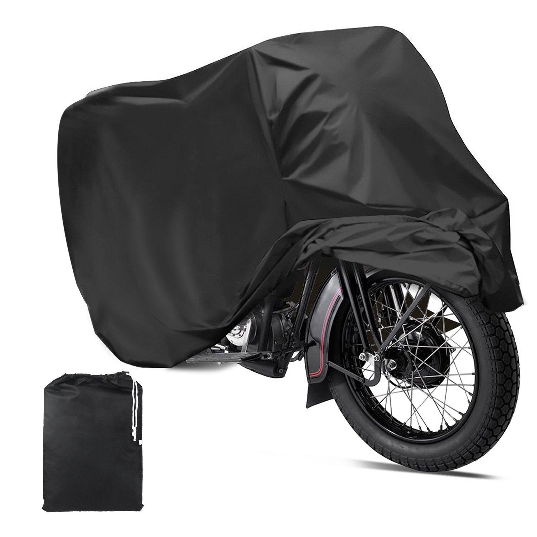 Mture Fundas para Motocicleta Impermeable Anti UV Cubierta para Moto Protector contra Lluvia y Polvo para