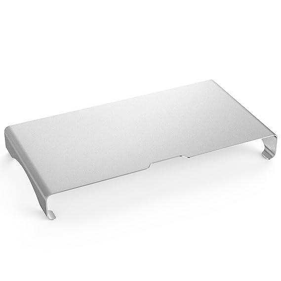 MoKo Monitor Ständer - Universal Aluminium Bildschirm Halter Halterung Stand mit Keyboard Storage für Monitor/Laptop / iMac/M