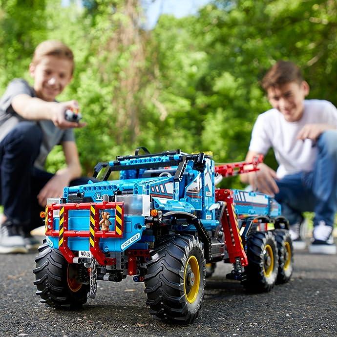 LEGO 乐高 Technic机械组 42070 旗舰款 6X6 全时驱动牵引卡车积木玩具 7.1折$204.99史低 海淘转运到手约¥1702