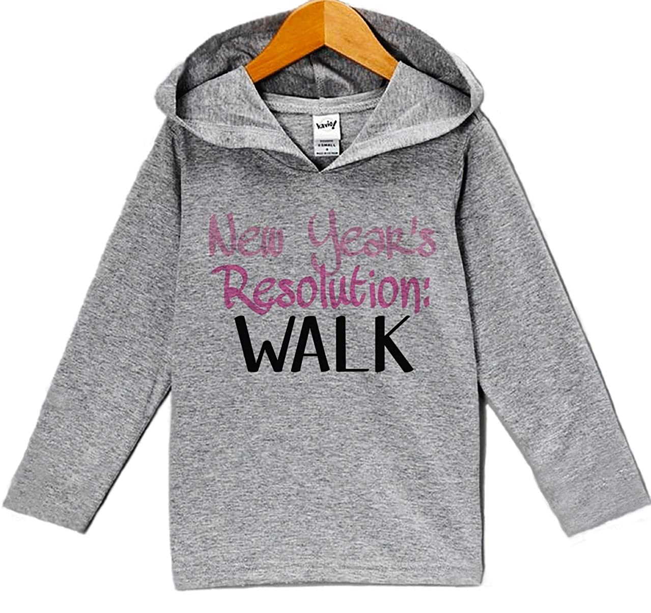 Custom Party Shop Baby Girls New Years Resolution New Years Eve Hoodie Pullover