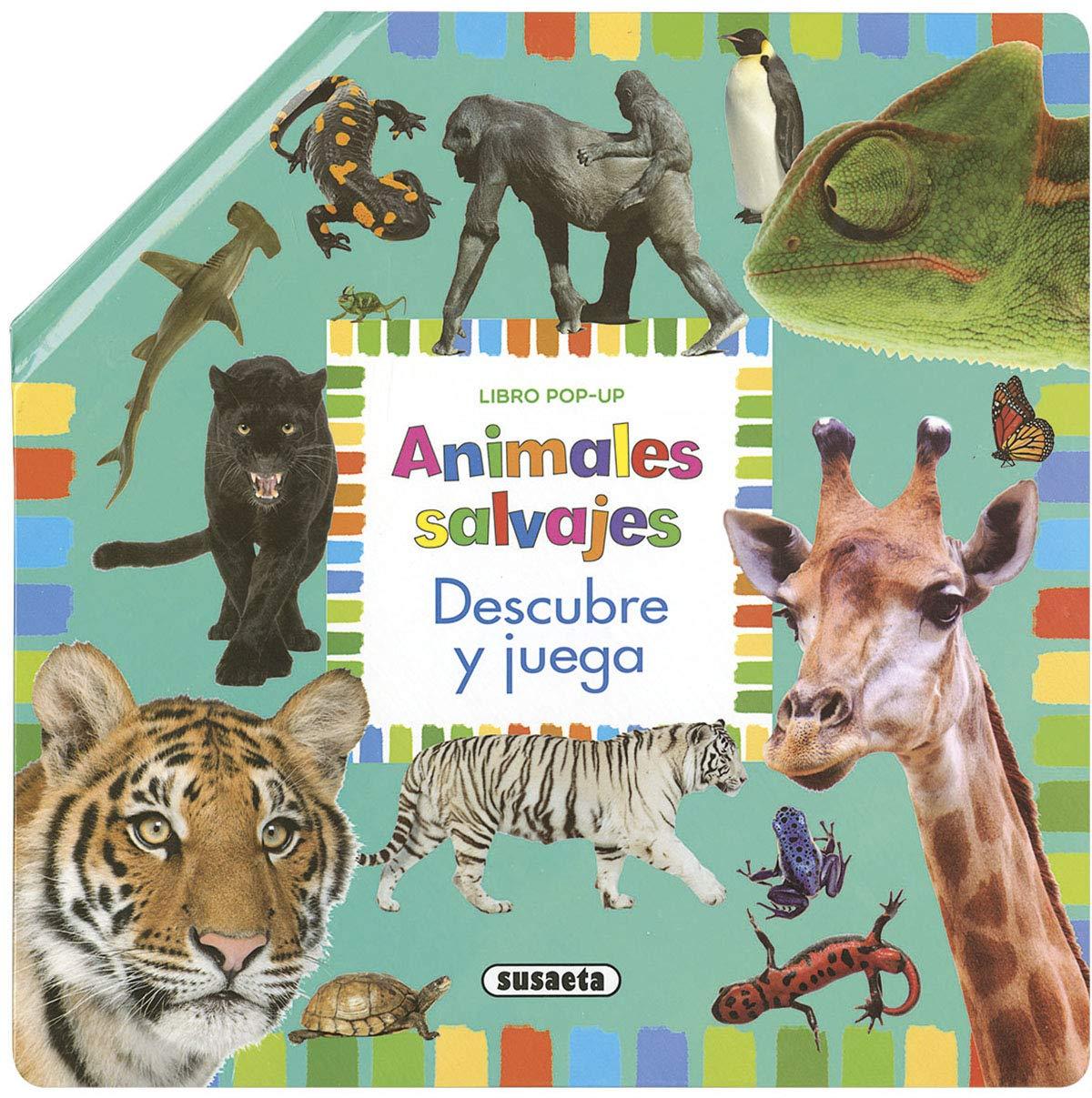 Animales Salvajes (Pop-up descubre y juega): Amazon.es: Talavera, Estelle: Libros