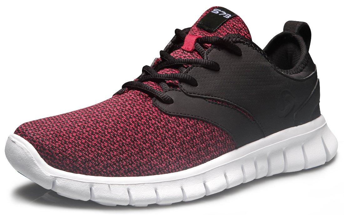 Tesla Men's Knit Pattern Sports Running Shoes L570/X573/X574/E734/X735 (True to Size) B0751X6RM9 Men 8 D(M)|TF-X574-CRK