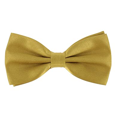 04d27766777c1 cravateSlim Noeud Papillon Doré Homme - Noeud Papillon Mariage - Soirée