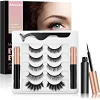 Amazon Price History for:Ainviata 5 Pairs Magnetic Eyelashes with Eyeliner, 2 Tubes Magnetic Eyeliner 3D Magnetic Lashes Kit, Reusable Magnetic…