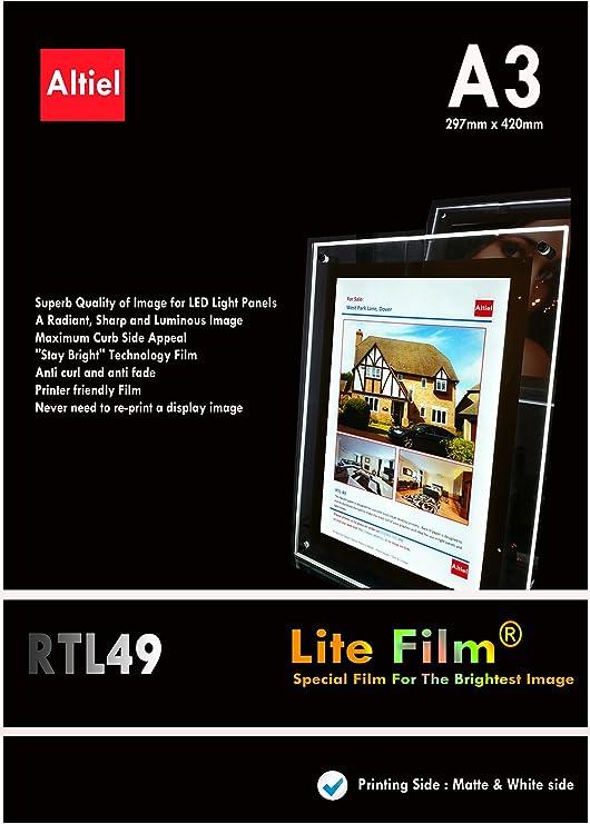 RTL49 - 10 hojas x A3 Paquete con muestras de pedido (10 hojas ...