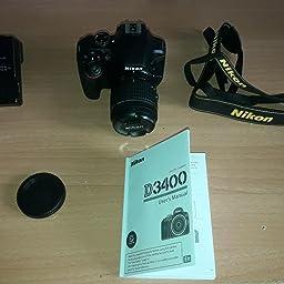 Nikon D3400 + SDXC de 32 GB - [Versión española con acceso a ...