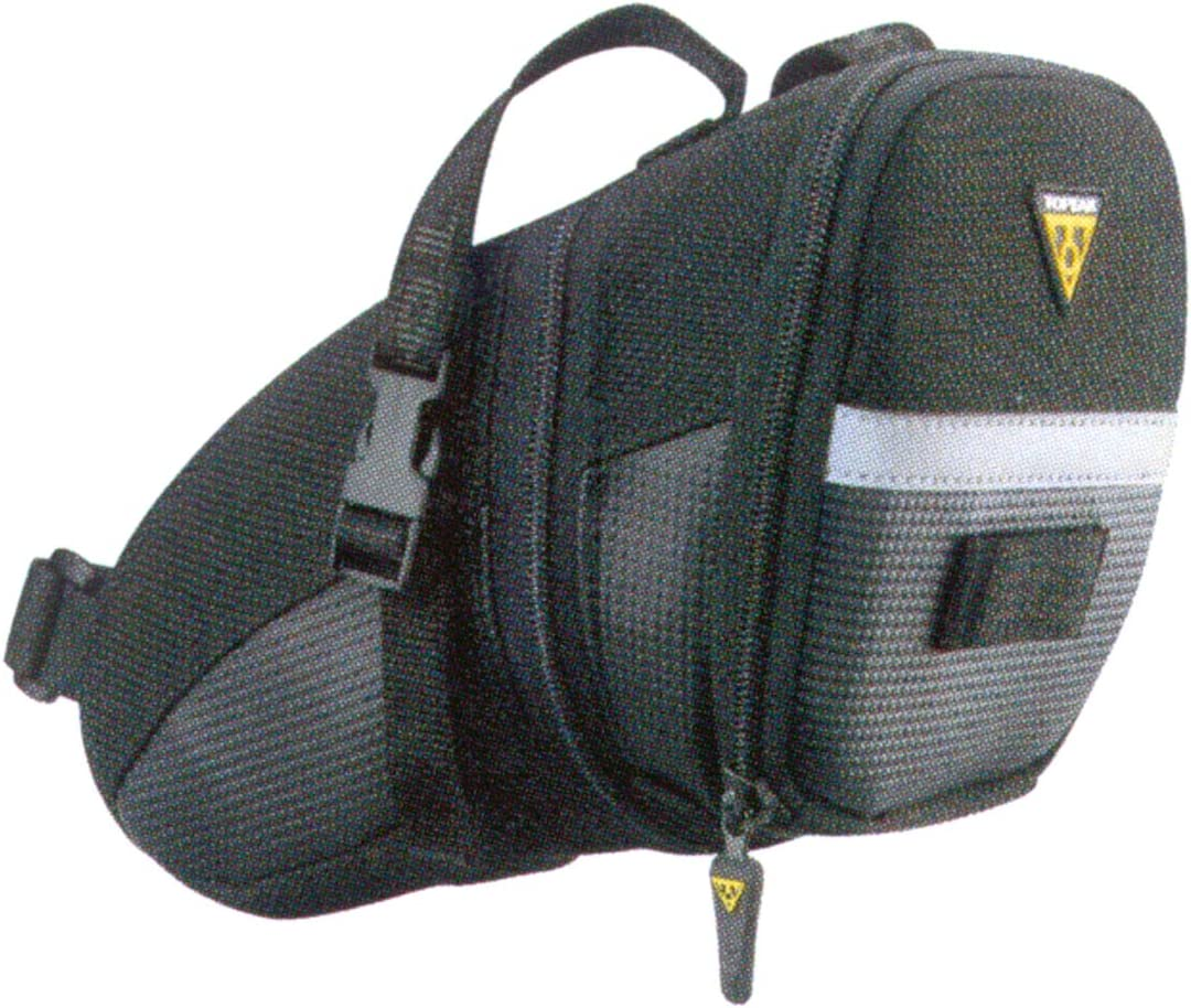 Topeak Aero Wedge Pack Strap Mount - Bolsa para sillín de Bicicletas