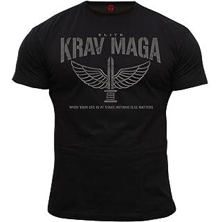 Negro con Rayas Camo Krav Maga combathose de algod/ón