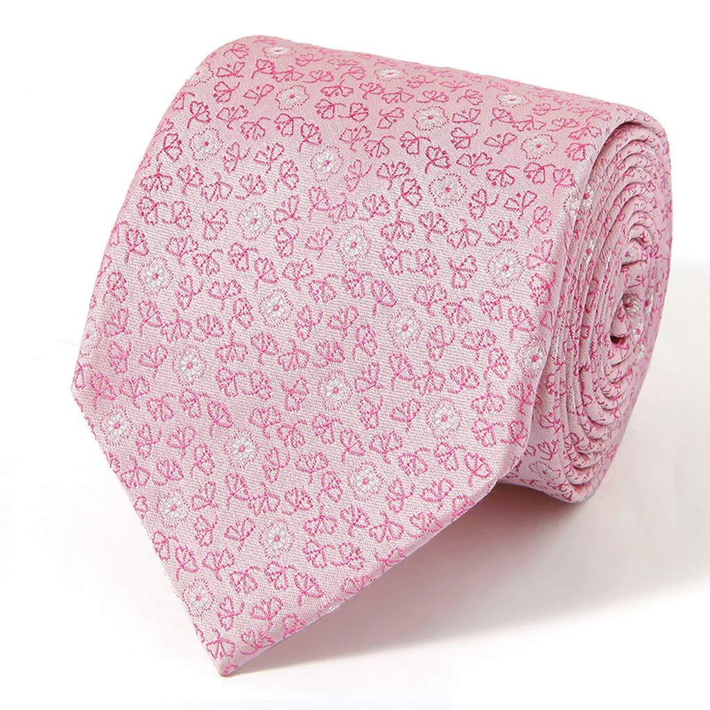BJ-tie Corbata de Hombre de Seda de 9 cm de Ancho, Estilo Corbata ...