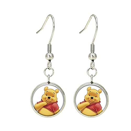 Amazon.com: Winnie the Pooh arete colgantes Disney TV comics ...