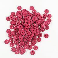 Leekayer - Botones de costura redondos de resina