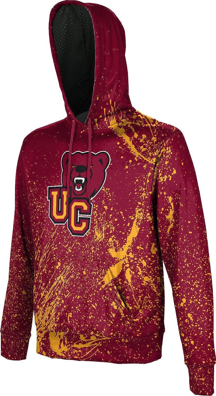 ProSphere Ursinus College Mens Pullover Hoodie Splatter School Spirit Sweatshirt